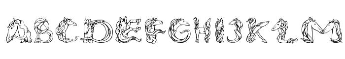 Magical Unicorn Sans Font UPPERCASE