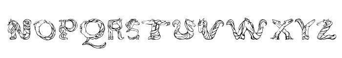 Magical Unicorn Sans Font LOWERCASE