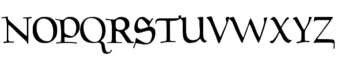 Magic:the Gathering Font UPPERCASE