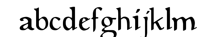 Magic:the Gathering Font LOWERCASE