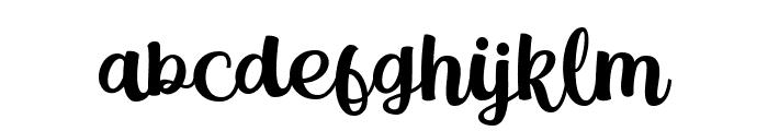 Magle Script DEMO Font LOWERCASE