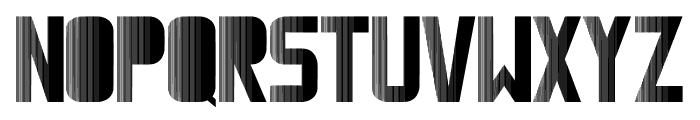 Magnetic Font UPPERCASE