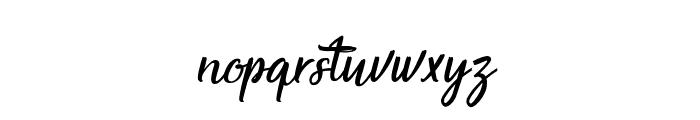 Magnificent Supernatural Font LOWERCASE