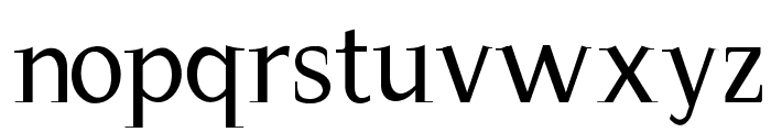 Magnificent Font LOWERCASE