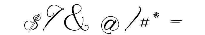 Magnolia  Italic Font OTHER CHARS