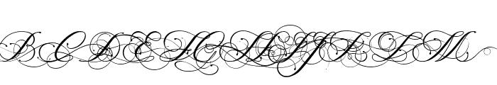 Magnolia  Italic Font UPPERCASE