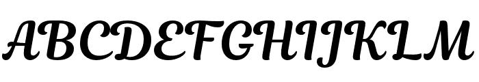 Magnolia-Script Font UPPERCASE