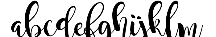 Magnolia Sky Font LOWERCASE