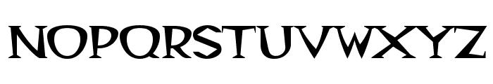 Magyar Serif Font UPPERCASE