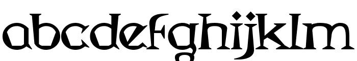 Magyar Serif Font LOWERCASE