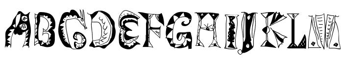 Magyarish Font UPPERCASE