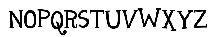 Maharani Font UPPERCASE