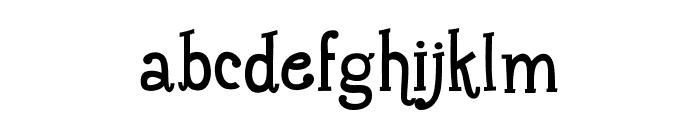 Maharani Font LOWERCASE