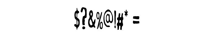 MahrpedigSans Font OTHER CHARS