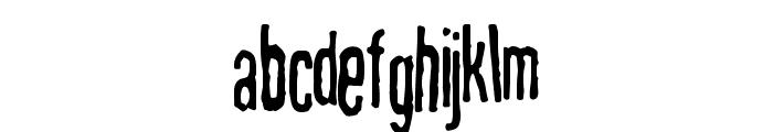 MahrpedigSans Font LOWERCASE