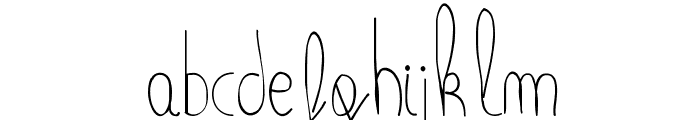 MaiLinh Font LOWERCASE