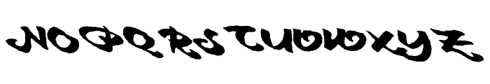 MaidenVoyage Font UPPERCASE
