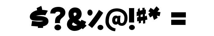 MailRayStuff-Regular Font OTHER CHARS