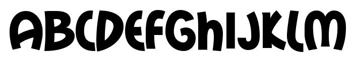 MailRayStuff-Regular Font UPPERCASE