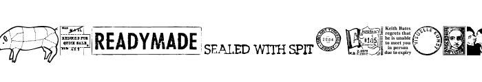 MailartGraphics Font LOWERCASE