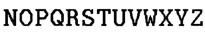 Mainframe-CnTroisSixR Font UPPERCASE