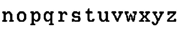 Mainframe-CnTroisSixR Font LOWERCASE
