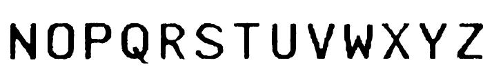 Mainframe-RdTwoLaserR Font UPPERCASE