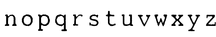 Mainframe-RdTwoLaserR Font LOWERCASE