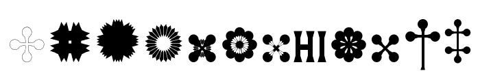 Mainz Font LOWERCASE