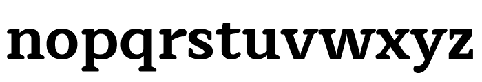 Maitree Bold Font LOWERCASE