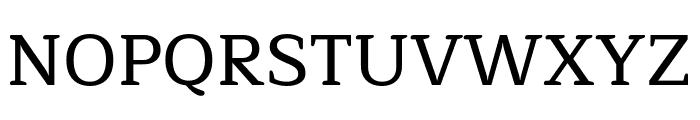 Maitree Medium Font UPPERCASE