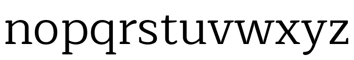 Maitree Regular Font LOWERCASE