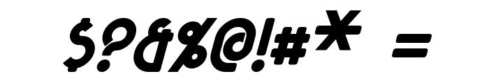 Majel Bold Italic Font OTHER CHARS