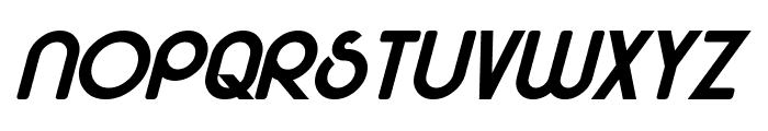 Majel Bold Italic Font LOWERCASE
