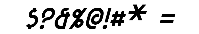 Majel Italic Font OTHER CHARS