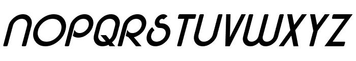 Majel Italic Font UPPERCASE