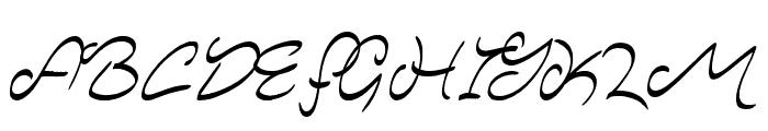 Majestic Mansion Font UPPERCASE
