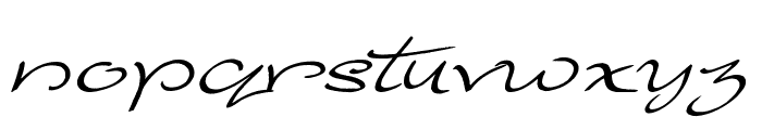 Majestic Mansion Font LOWERCASE