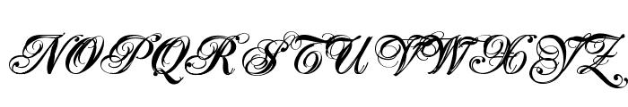 Majestic X Font UPPERCASE