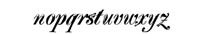 Majestic X Font LOWERCASE