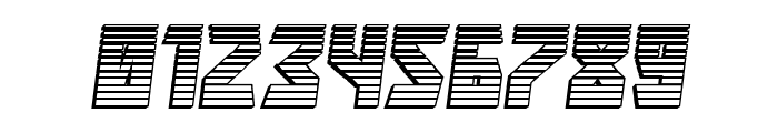 Major Force Chrome Italic Font OTHER CHARS