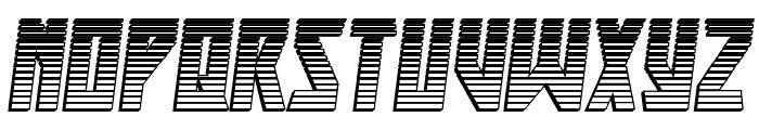 Major Force Chrome Italic Font UPPERCASE