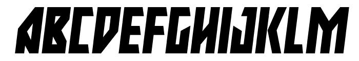 Major Force Italic Font UPPERCASE