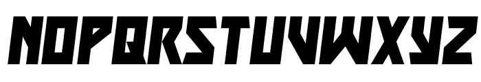Major Force Italic Font LOWERCASE