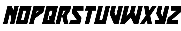 Major Force Super-Italic Font LOWERCASE