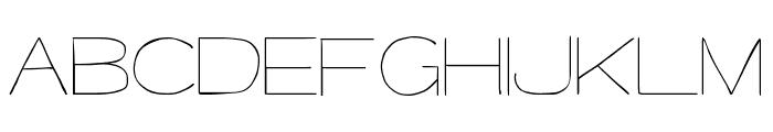 Major Kong Font UPPERCASE