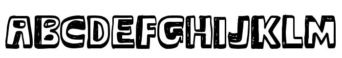 Major Snopes Font UPPERCASE