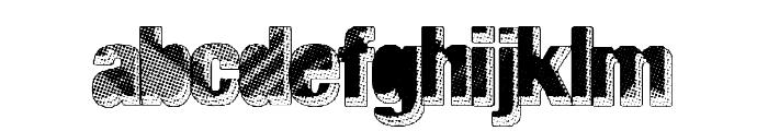 MajorBlack Font LOWERCASE