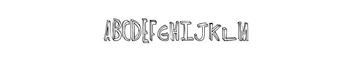 MajorChronic Font UPPERCASE