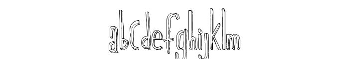 MajorChronic Font LOWERCASE